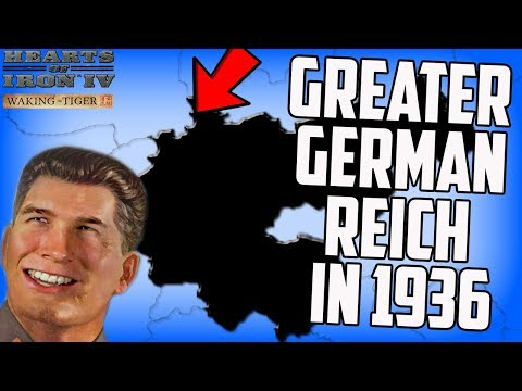 Greater German Reich in 1936? Hearts of Iron 4 HOI4 Gameplay