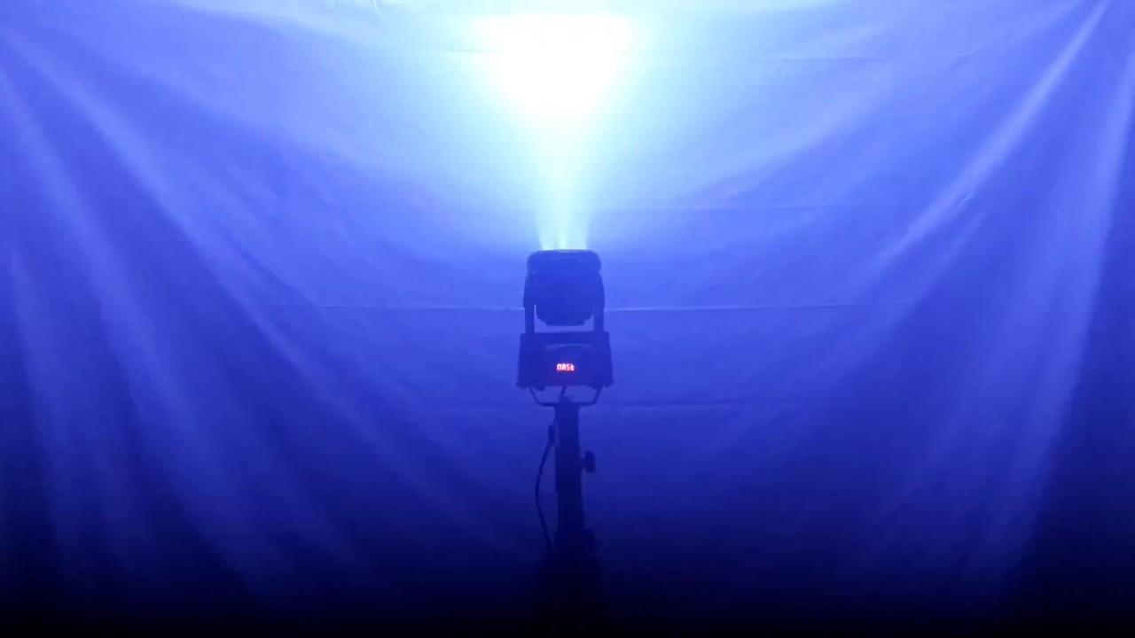 4251dd0a83a CABEZA MÓVIL WASH 7 LED 8W RGBW. - YouTube