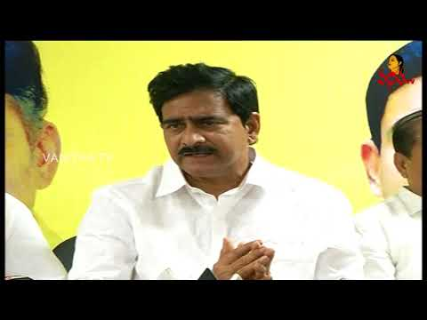 AP TDP Ministers Inspects Chandrababu Hunger Strike Arrangements || Vanitha News || Vanitha TV