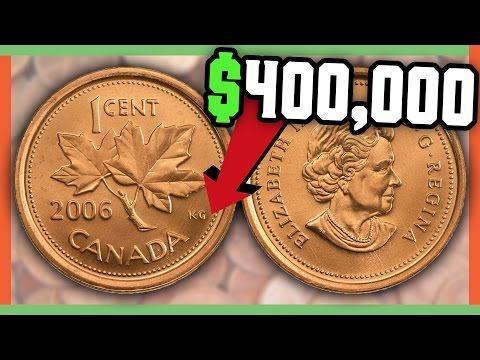 RARE CANADIAN PENNIES WORTH MONEY - VALUABLE COINS IN POCKET
