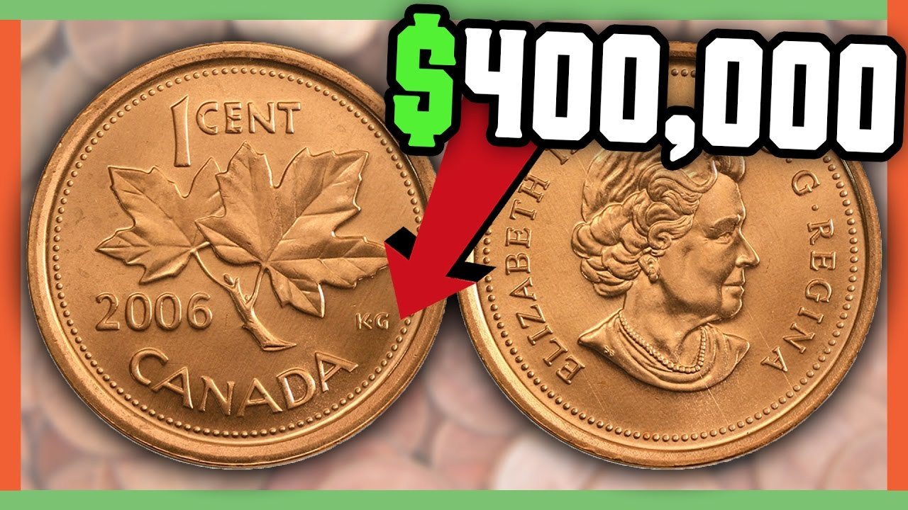 Rare Canadian Pennies Worth Money Valuable Coins In Pocket Change