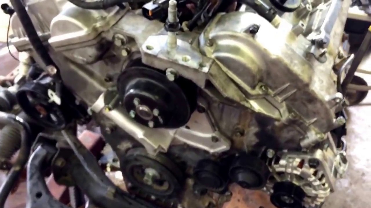 2007 hyundai santa fe timing belt job and what you ll have to do to get to it  [ 1280 x 720 Pixel ]