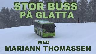 Stor buss på glatta med Mariann Thomassen / Garasjen