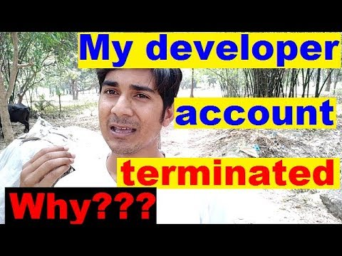 Why terminate my google play store console account without suspend apps ? a2z hindi trick.