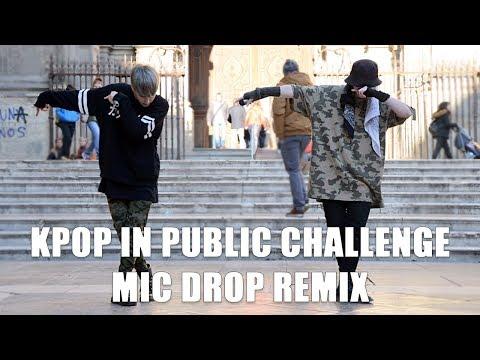 [KPOP IN PUBLIC CHALLENGE SPAIN] 'MIC Drop (Steve Aoki Remix)' BTS Dance Cover by KIH