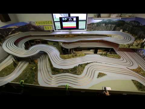 Thunder Bay Slot Car Track Build