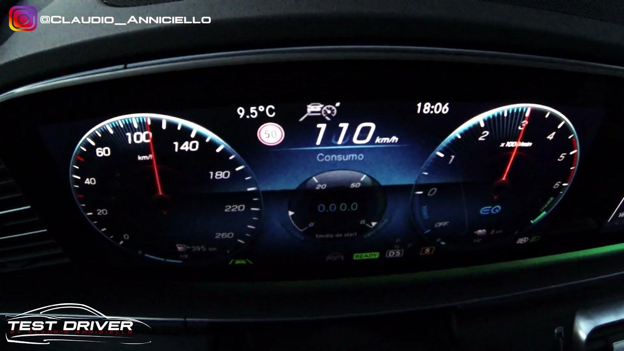 Accelerazione 0-100 km/h Mercedes GLE 350 de plug in