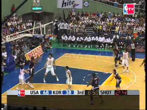 USA Dream Team vs. Korea (FIBA 2006)