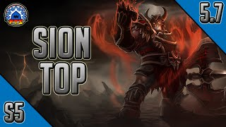 League of Legends - Warmonger Sion Top - Full Game Commentary