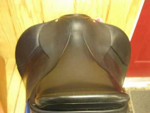 Used Dressage Saddle for sale- Frank Baines Reflex 17.5