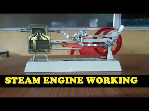 steam engine working principle   steam engine works  model youtube