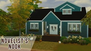 Novelist's Nook | Sims 4 Speed Build | No CC