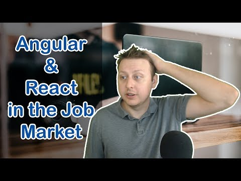 Lets Talk About Angular & React in the Job Market | Ask a Dev