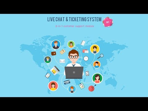 Prestashop Live Chat And Ticketing System - Version 2.0.2