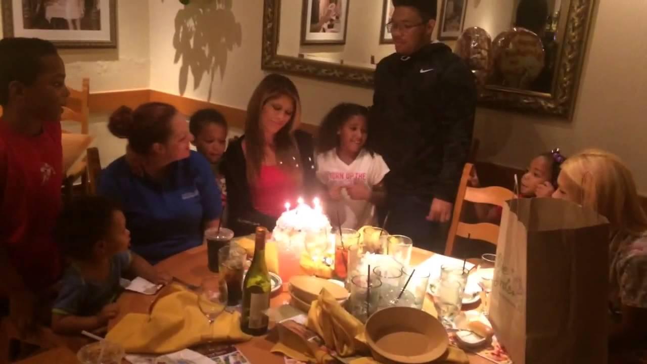 My 30th Birthday Dinner at Olive Garden! - YouTube