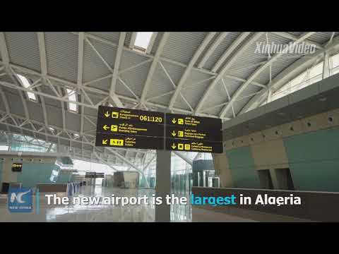 Chinese-built largest airport in Algeria about to be completed