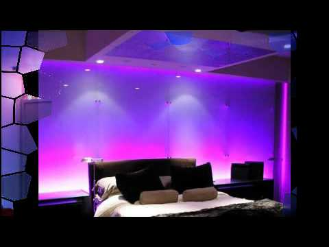 Bedroom LED lighting 1 - YouTube