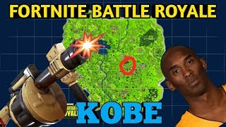 *KOBE* FORTNITE BATTLE ROYALE SQUAD GAMEPLAY - SUB GETTING THAT KOBE - INSANE SNIPES - WIN ?