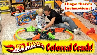 Hot Wheels Colossal Crash Track Set! Brand New for Christmas!