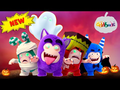 Oddbods | HALLOWEEN 2019 | Ghost Ride | Funny Cartoons For Kids