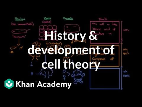 History and development of cell theory | Cells | MCAT | Khan