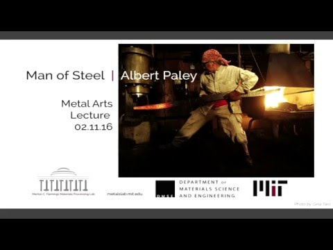 MIT Metal Arts Lecture: Albert Paley (2016)