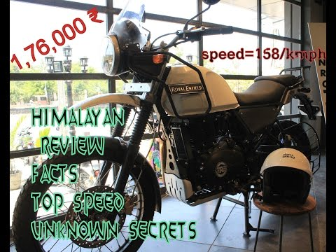 Royal Enfield Himalayan Unknown secrets /testdrive/speed testin traffic/Review/facts about Himalayan