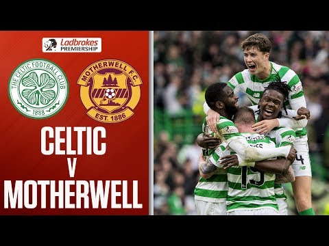 Celtic 4-1 Motherwell | Edouard grabs two as hosts go eight points clear | Ladbrokes Premiership