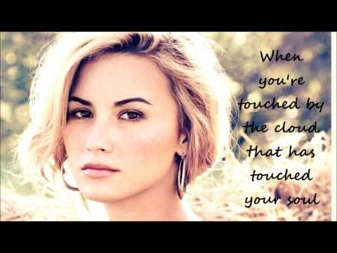 "Demi lovato - ""Heart by Heart"" (Lyrics) - From ""The Mortal Instruments:City Of Bones"""