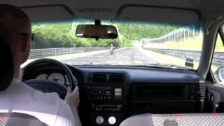 Le tour du Nordschleif en Opel Calibra x20xev Team