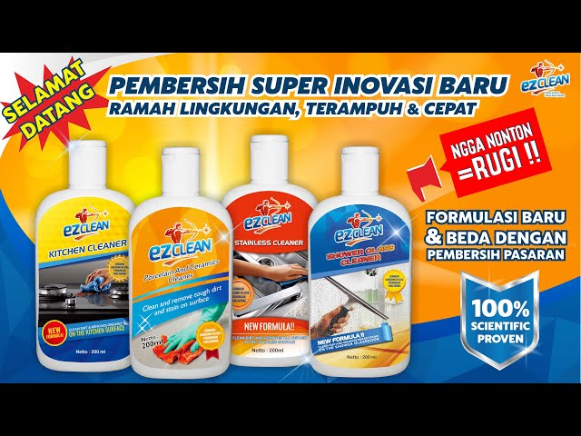 INTRODUCTION PRODUCT OF EZCLEAN INDONESIA