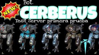 War Robots - NUEVO ROBOT CERBERUS, ES MUY OP? 🤔