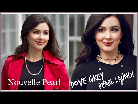 NOUVELLE PEARL RE-LAUNCH VLOG | DOVE GREY PEARLS