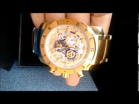 b0ac9ec8357 Relógio 1 Linha (AAA) Bvlgari Iron Man Cobra