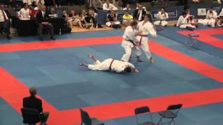 EKF National Championships 2013 Team Kata Bunkai Kanku Sho JS Karate Academy