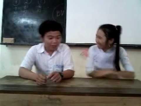 Hoạt động ngoại khóa- Tiểu phẩm tình yêu tuổi học trò- lớp 12A4-THPT Phạm Thành Trung