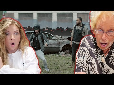 DAD REACTS TO 'LUCKY YOU' (Eminem ft. Joyner Lucas)