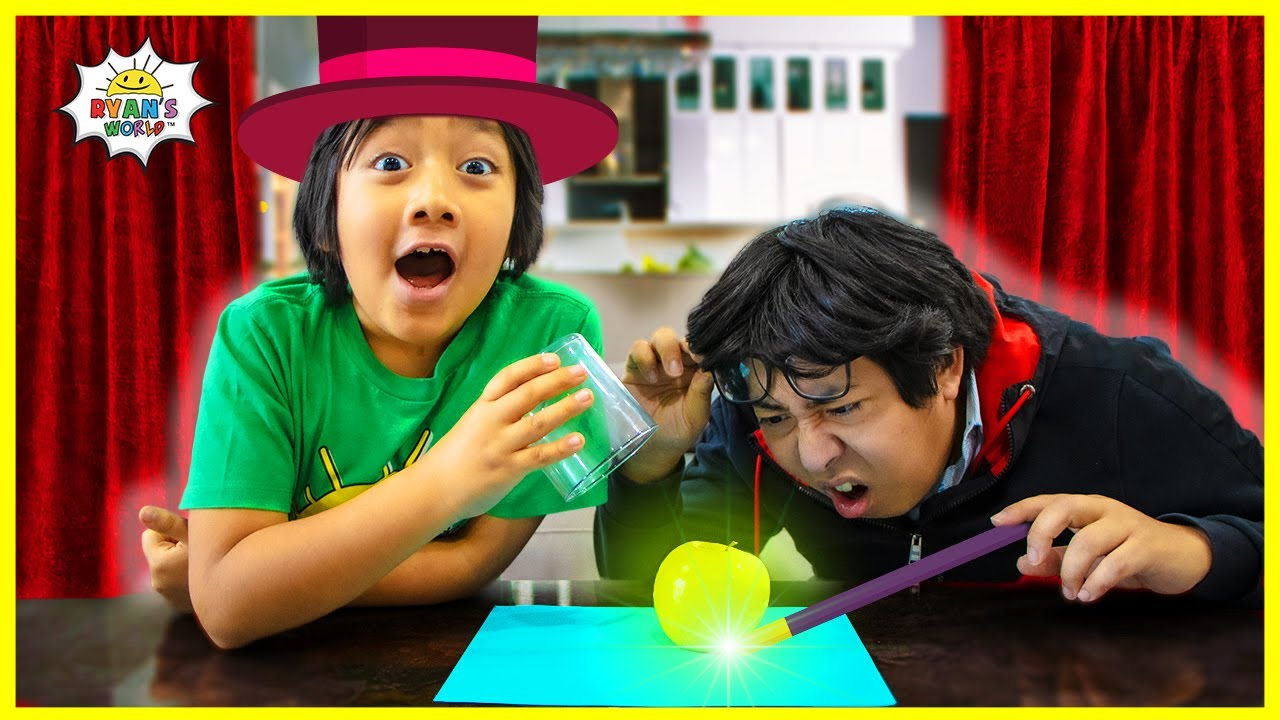 DIY Magic Trick for kids! How to make objects disappear!!