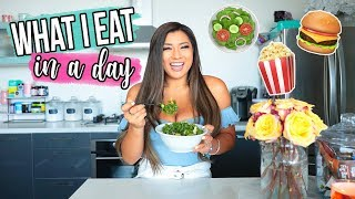 What I Eat In A Day! MissRemiAshten