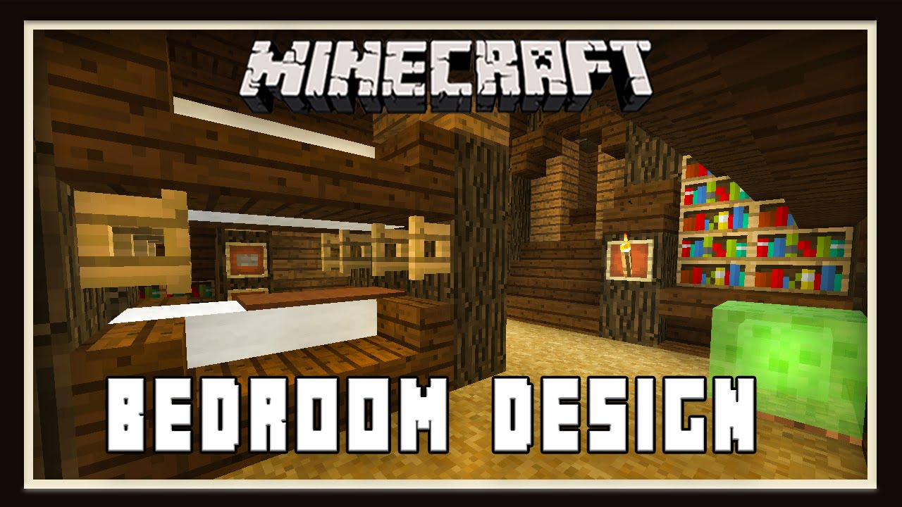 minecraft bedroom and sitting room furniture design 12396 | maxresdefault