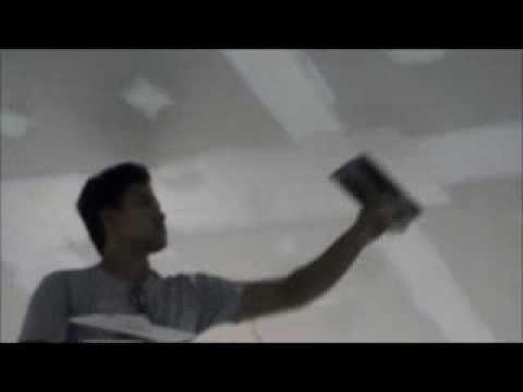 เทคนิควิธีทำฝ้าฉาบเรียบ ฝ้าเพดาน ชุมชนร่วมสามัคคี รามคำแหง39#1