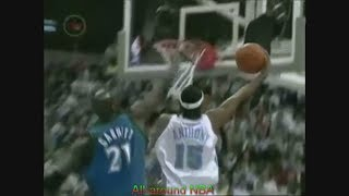 Carmelo Anthony 2 Points 1/16 Shooting Vs. Timberwolves, 2004 Playoffs Game 4.