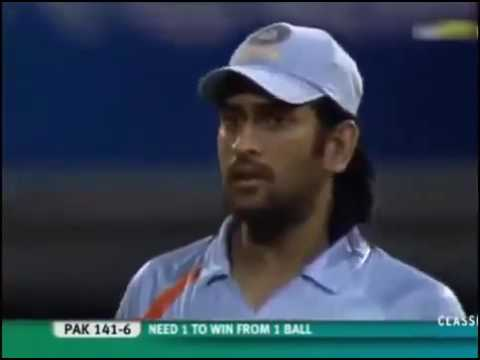 India vs Pakistan T20 World Cup Final 2007 Highlights    Super Over     YouTube 360p