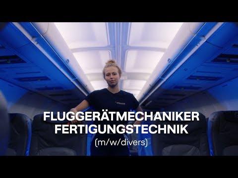 Fluggerätmechaniker Fertigungstechnik (m/w/divers) - Ausbildung bei Lufthansa Technik