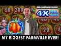 My BIGGEST Farmville Bonus EVER 🎃 4X ALL WINS at Rocky Gap
