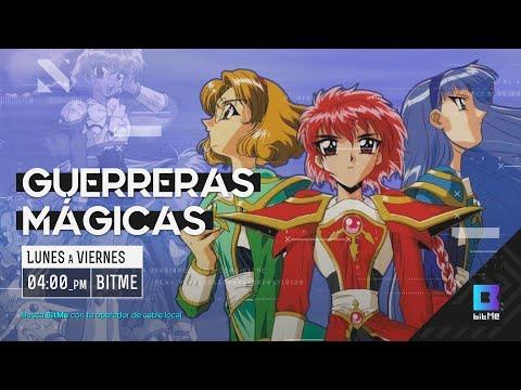 Las Guerreras Mágicas en las #TardesDeAnime🎌 por BitMe