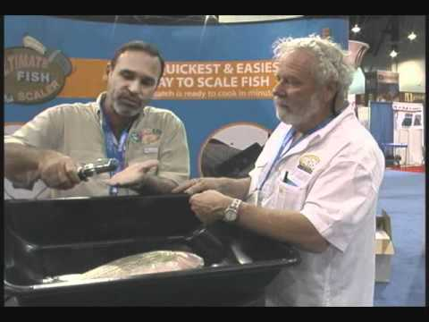 ICAST Fishing Show Ultimate Fish Scaler Interview