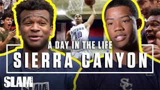 Sierra Canyon Takes Flight to Start the Season! 🚀 | SLAM Day in the Life