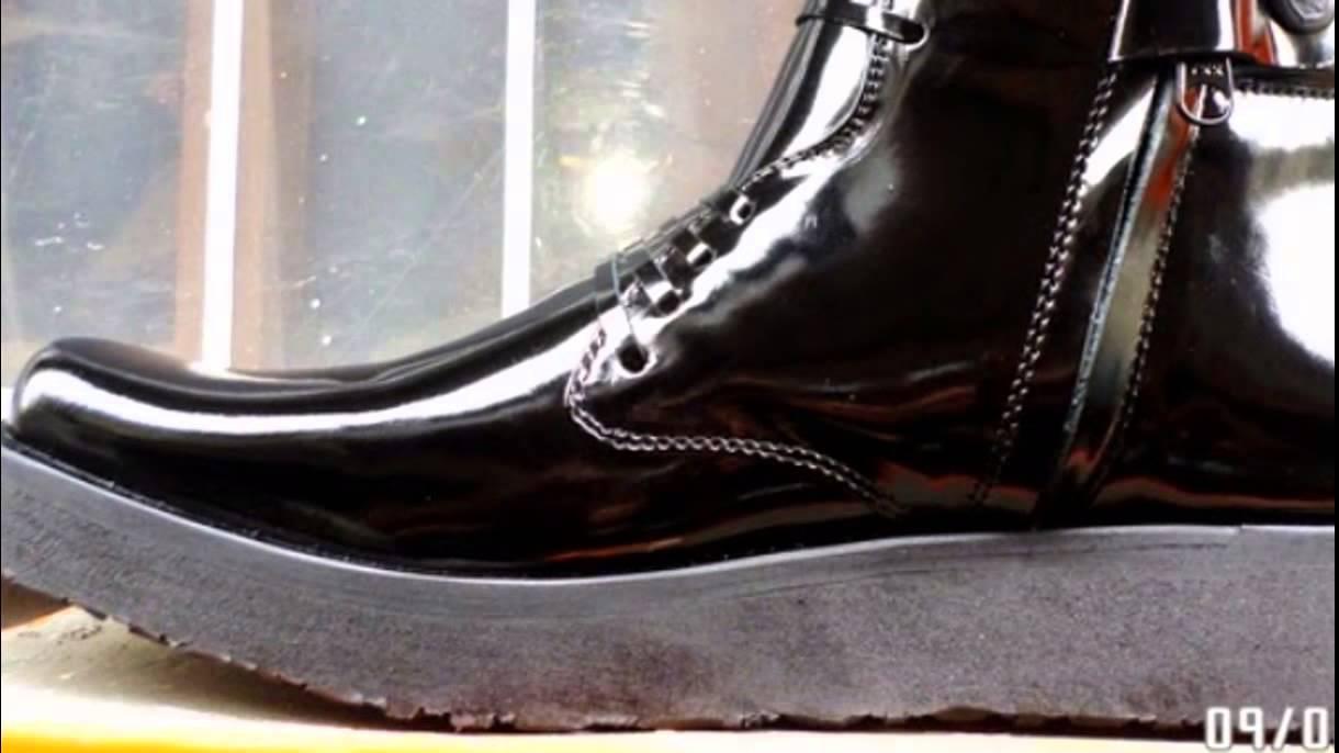 Sepatu PDH Asli Kulit Sol Tebal - Rata Merk Ciarmy - YouTube b46c13c15e
