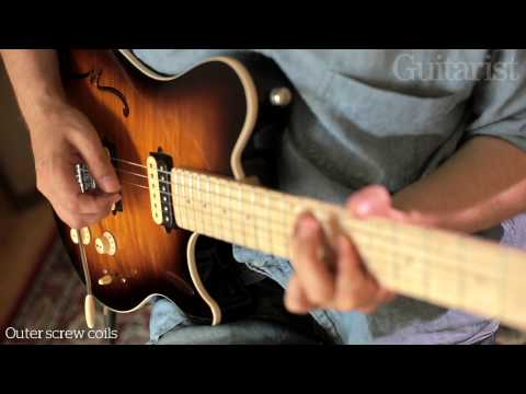 Music Man Axis Super Sport Semi Hollowbody electric guitar review demo